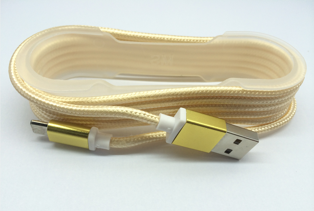 V8 Colorful Braided Micro USB Cable(0259_V8彩色编织线1.5米)